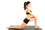 Worked on opening my hip flexors in runner's lunge during hot yoga.